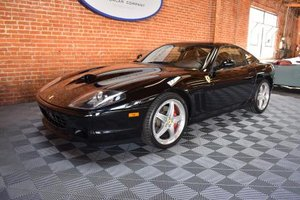 2004 Ferrari 575M Maranello = All Black 15k miles $129.5k