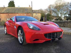 2011 FERRARI CALIFORNIA  SOLD