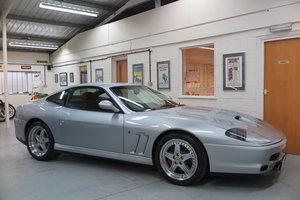 1998 R Ferrari 550 Maranello - Argento Silver - RHD For Sale