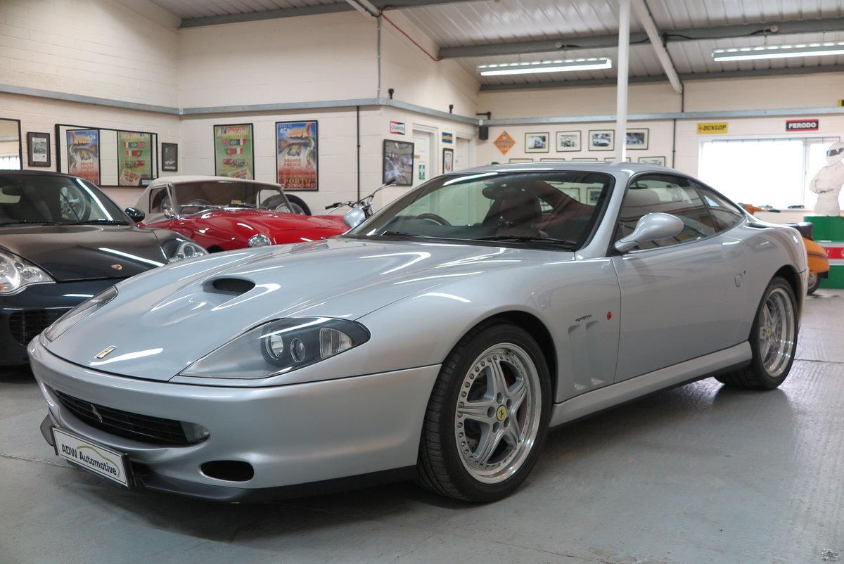1998 R Ferrari 550 Maranello - Argento Silver - RHD For Sale (picture 3 of 6)
