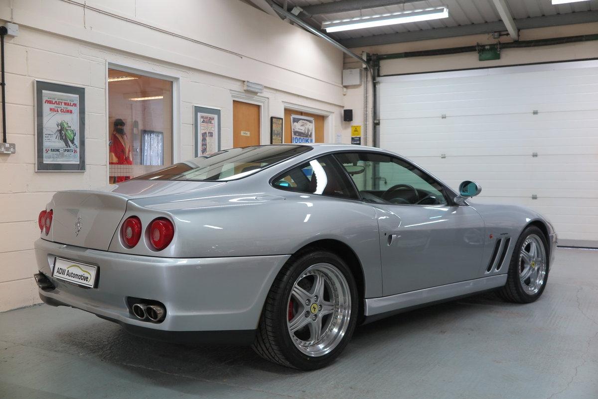 1998 R Ferrari 550 Maranello - Argento Silver - RHD For Sale (picture 4 of 6)
