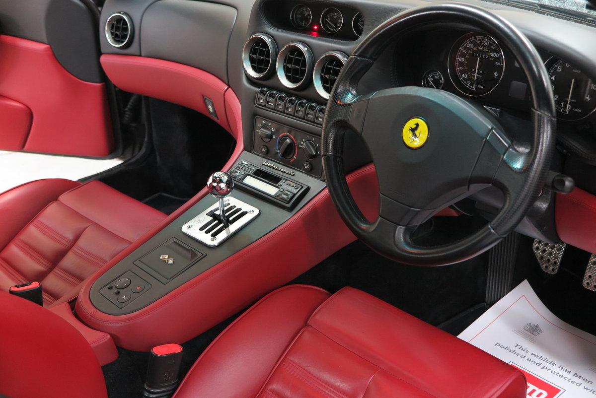1998 R Ferrari 550 Maranello - Argento Silver - RHD For Sale (picture 6 of 6)