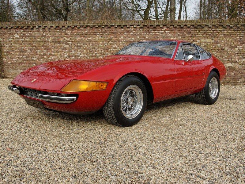 1972 Ferrari 365 GTB/4 Daytona EU car, AC, Ferrari Classiche! For Sale (picture 1 of 6)