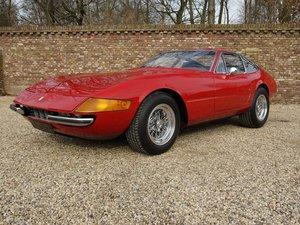 1972 Ferrari 365 GTB/4 Daytona EU car, AC, Ferrari Classiche!