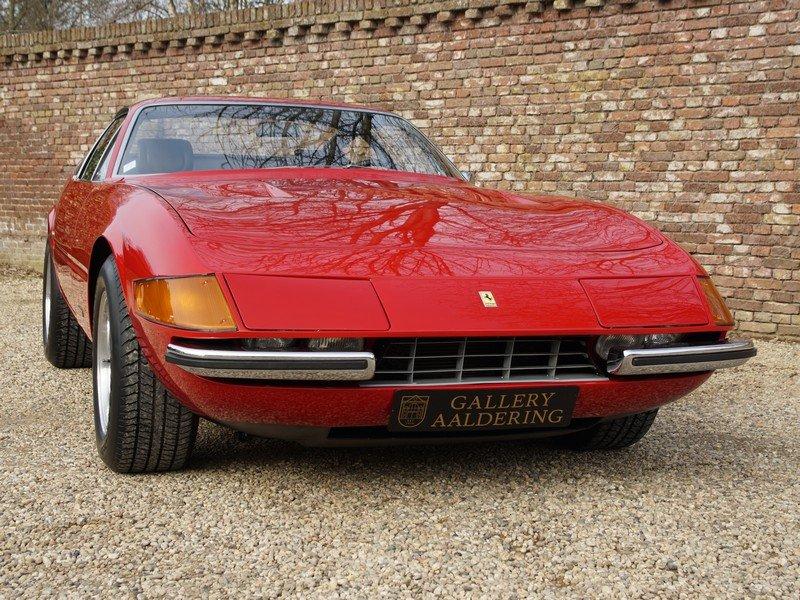 1972 Ferrari 365 GTB/4 Daytona EU car, AC, Ferrari Classiche! For Sale (picture 5 of 6)