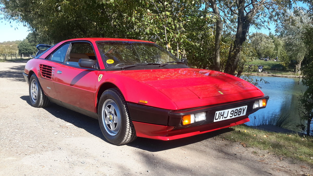 1982 Ferrari mondial 3.0 v8 coupe u,k car right hand drive For Sale (picture 1 of 6)