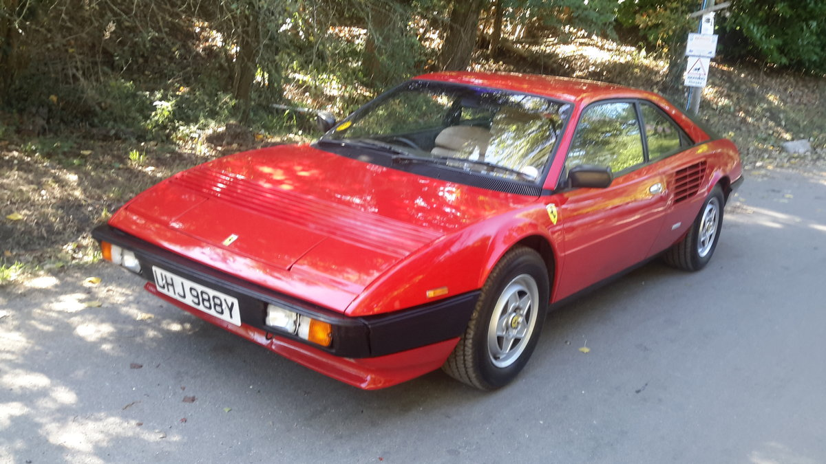 1982 Ferrari mondial 3.0 v8 coupe u,k car right hand drive For Sale (picture 2 of 6)