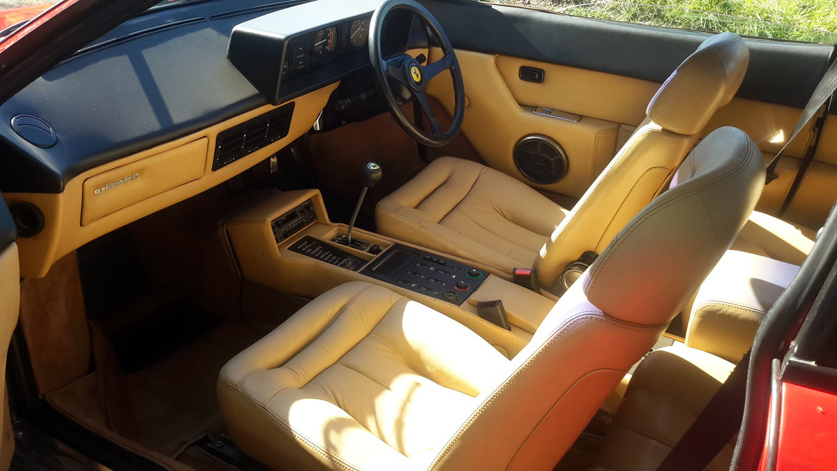 1982 Ferrari mondial 3.0 v8 coupe u,k car right hand drive For Sale (picture 3 of 6)