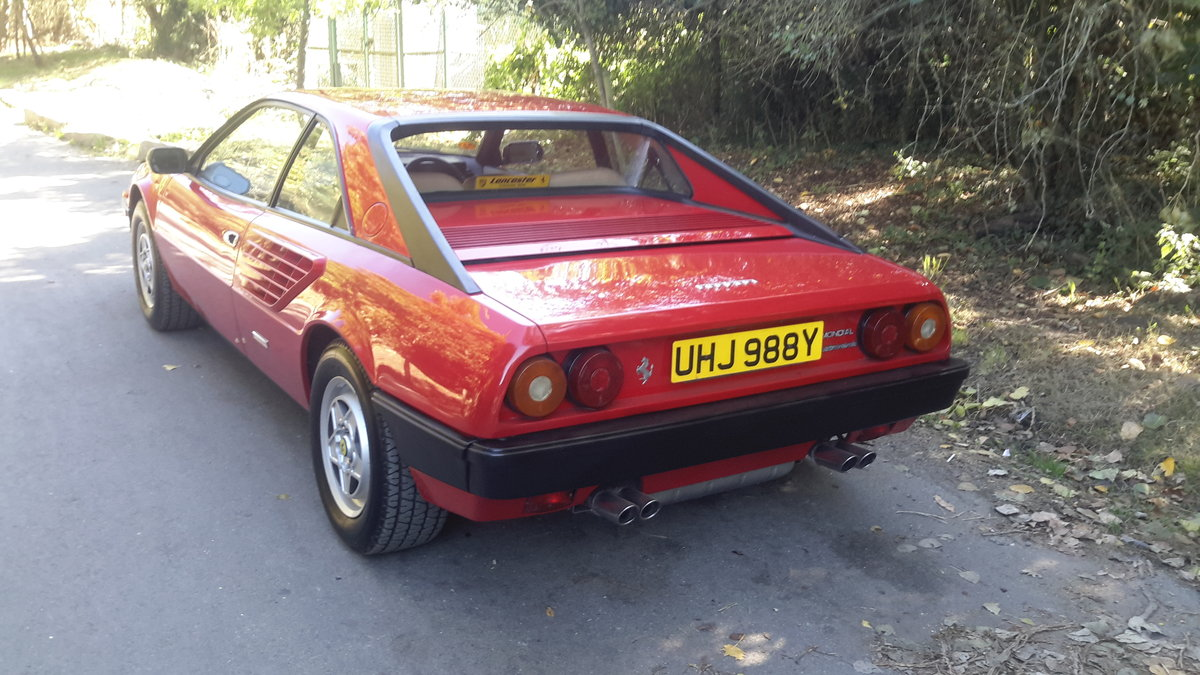 1982 Ferrari mondial 3.0 v8 coupe u,k car right hand drive For Sale (picture 4 of 6)