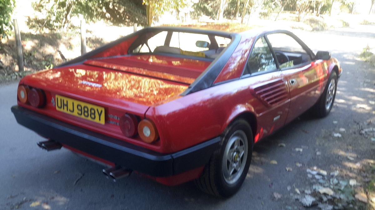 1982 Ferrari mondial 3.0 v8 coupe u,k car right hand drive For Sale (picture 6 of 6)