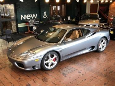 2000 Ferrari 360 Modena F1 = Silver(~)Tan 23k miles $74.9k For Sale