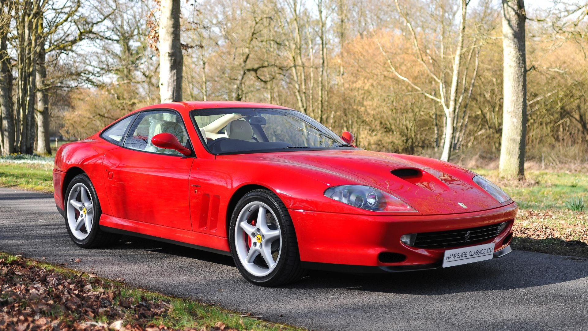1999 Ferrari 550 Maranello - Only 12,926 Miles! For Sale (picture 1 of 6)