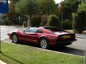 1978 Ferrari GTS, Rosso Rubino with beige, show condition For Sale