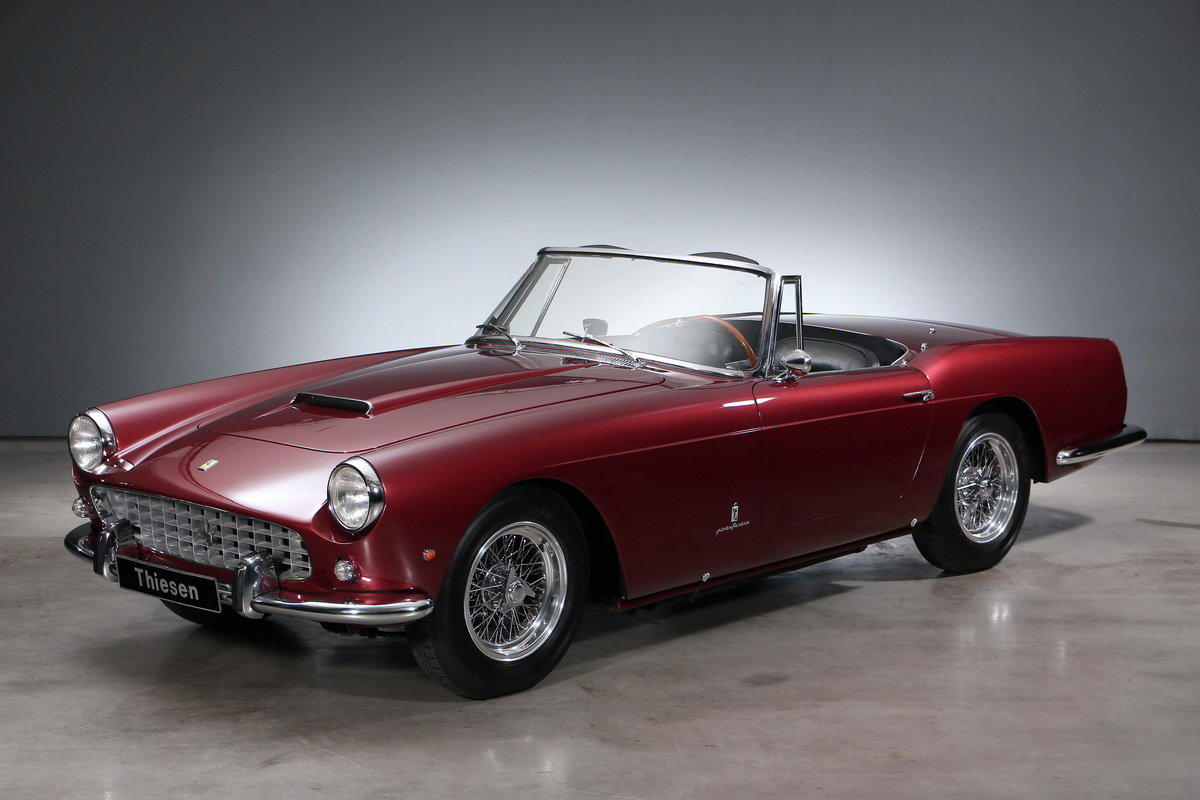 1960 Ferrari 250 GT SII Pininfarina Convertible For Sale