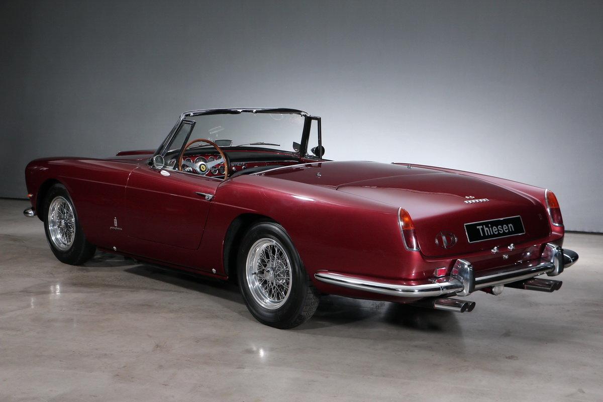 1960 Ferrari 250 GT SII Pininfarina Convertible For Sale (picture 3 of 6)