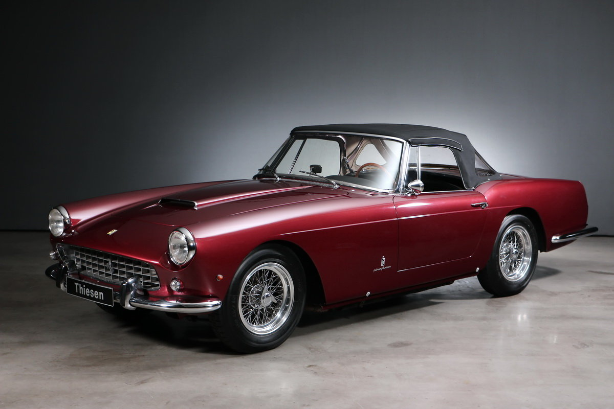 1960 Ferrari 250 GT SII Pininfarina Convertible For Sale (picture 4 of 6)