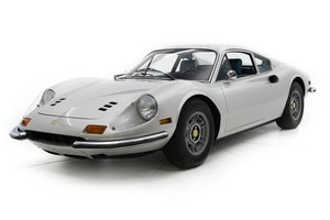 1972 Ferrari 246 GT Coupe = Silver(~)Navy 49k miles $398.5   For Sale