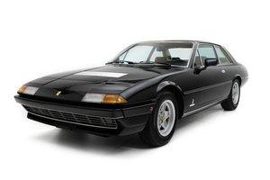1977 Ferrari 400 GT = Rare 1 of 147 5 speed Black(~)Tan $99. For Sale