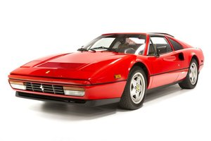 1988 Ferrari 328 GTS = Red(~)Tan 15k miles  $119.5k  For Sale