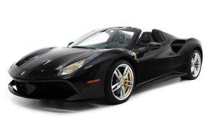 2018 Ferrari 488 Spider Convertible = Black 1.1k miles $337. For Sale