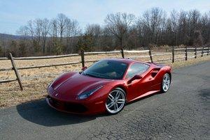 2017 Ferrari 488 GTB F1 = Rosso Fiorano(~)Ginger 1.3k miles For Sale