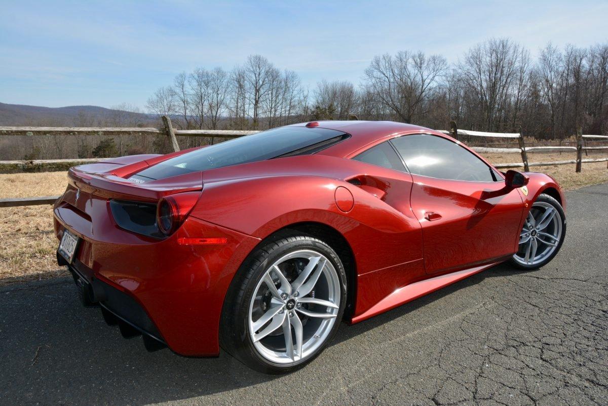 2017 Ferrari 488 GTB F1 = Rosso Fiorano(~)Ginger 1.3k miles For Sale (picture 2 of 6)