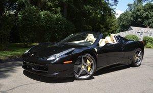 2015 Ferrari 458 Spider F1 = Black(~)Tan 8k miles $obo
