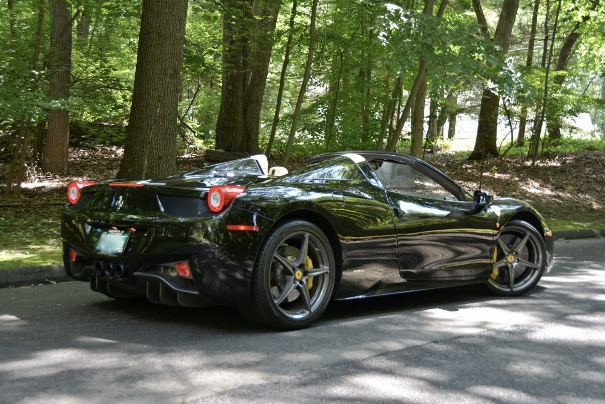2015 Ferrari 458 Spider F1 = Black(~)Tan 8k miles $obo For Sale (picture 2 of 6)