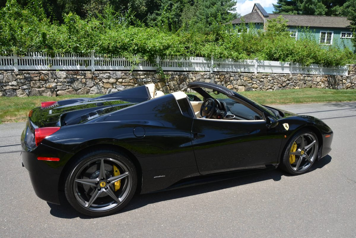 2015 Ferrari 458 Spider F1 = Black(~)Tan 8k miles $obo For Sale (picture 3 of 6)