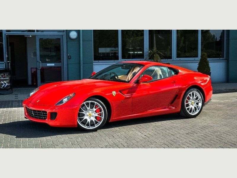 2007 Ferrari 599 GTB Fiorano - Rosso Scuderia+Carbon Door Inserts For Sale (picture 1 of 6)
