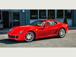 2007 Ferrari 599 GTB Fiorano - Rosso Scuderia+Carbon Door Inserts For Sale