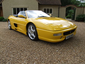 1998 Ferrari F355 Spider to Hire for the day or longer