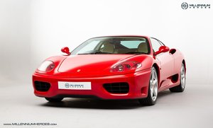 2001 FERRARI 360 MODENA // ROSSO CORSA // MANUAL // JUST SERVICED For Sale