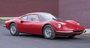 1970 Ferrari Dino 246 GT L-Model = Rare + 40k miles Red $359k For Sale