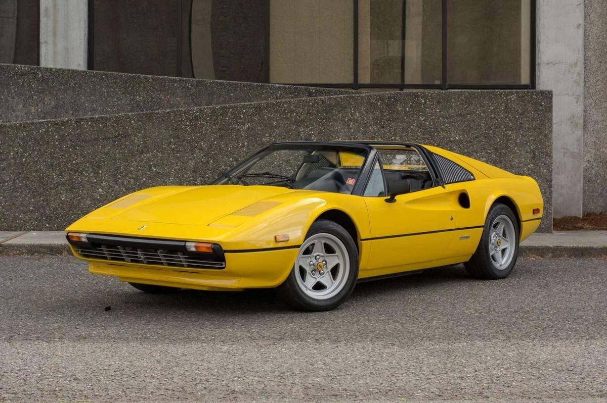 Ferrari 308 Gts For Sale >> 1978 Ferrari 308 GTS = Euro-specs Carbs Yellow $79.9k For ...