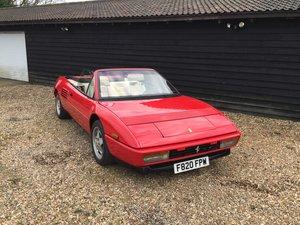 1989 Ferrari Mondial 3.4T LHD