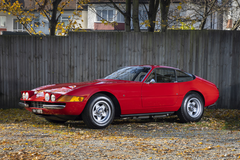 1973 FERRARI DAYTONA 365 GTB/4 - ROSSO RED For Sale (picture 3 of 6)
