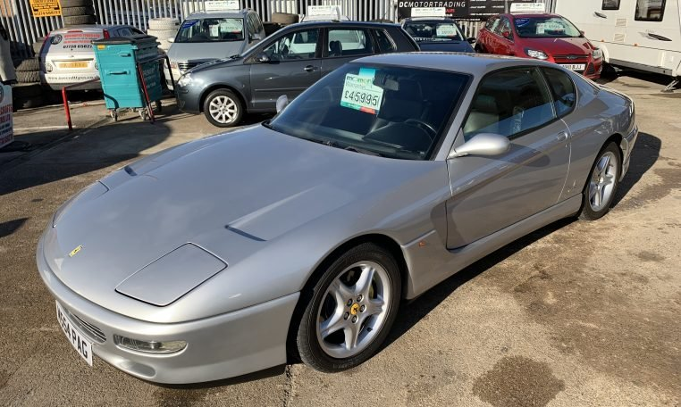 1995 Ferrari 456 5.5 GT Coupe For Sale (picture 2 of 6)