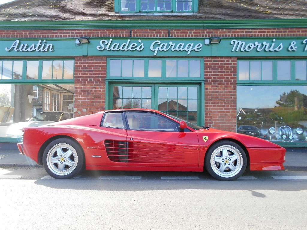 1989 Ferrari Testarossa Coupe Manual  SOLD (picture 1 of 4)
