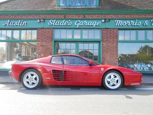 1989 Ferrari Testarossa Coupe Manual  For Sale