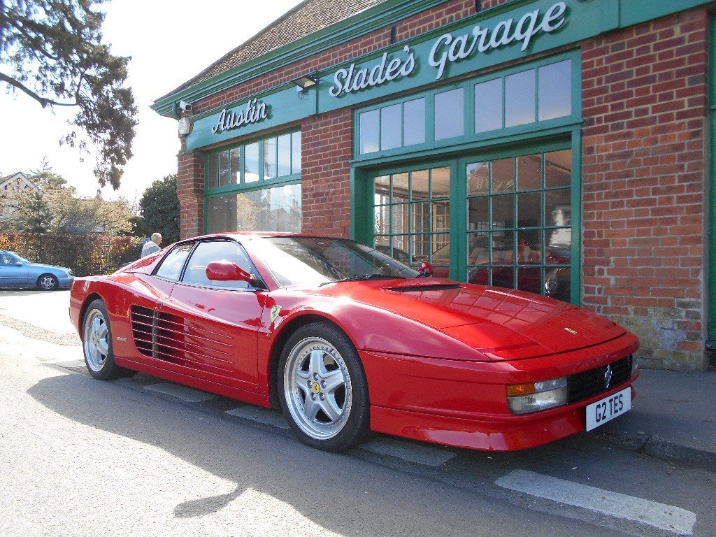 1989 Ferrari Testarossa Coupe Manual  SOLD (picture 2 of 4)