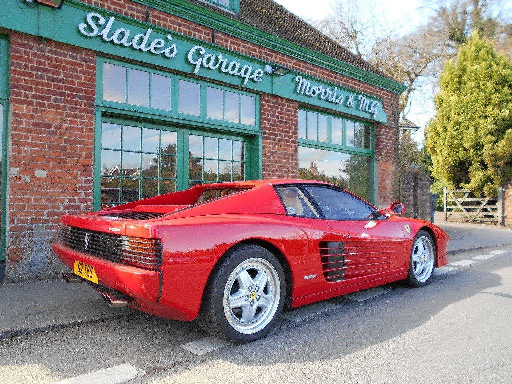 1989 Ferrari Testarossa Coupe Manual  SOLD (picture 3 of 4)