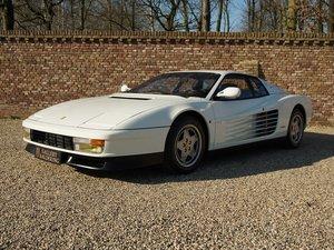1988 Ferrari Testarossa only 41.576 km, original colour scheme! E For Sale