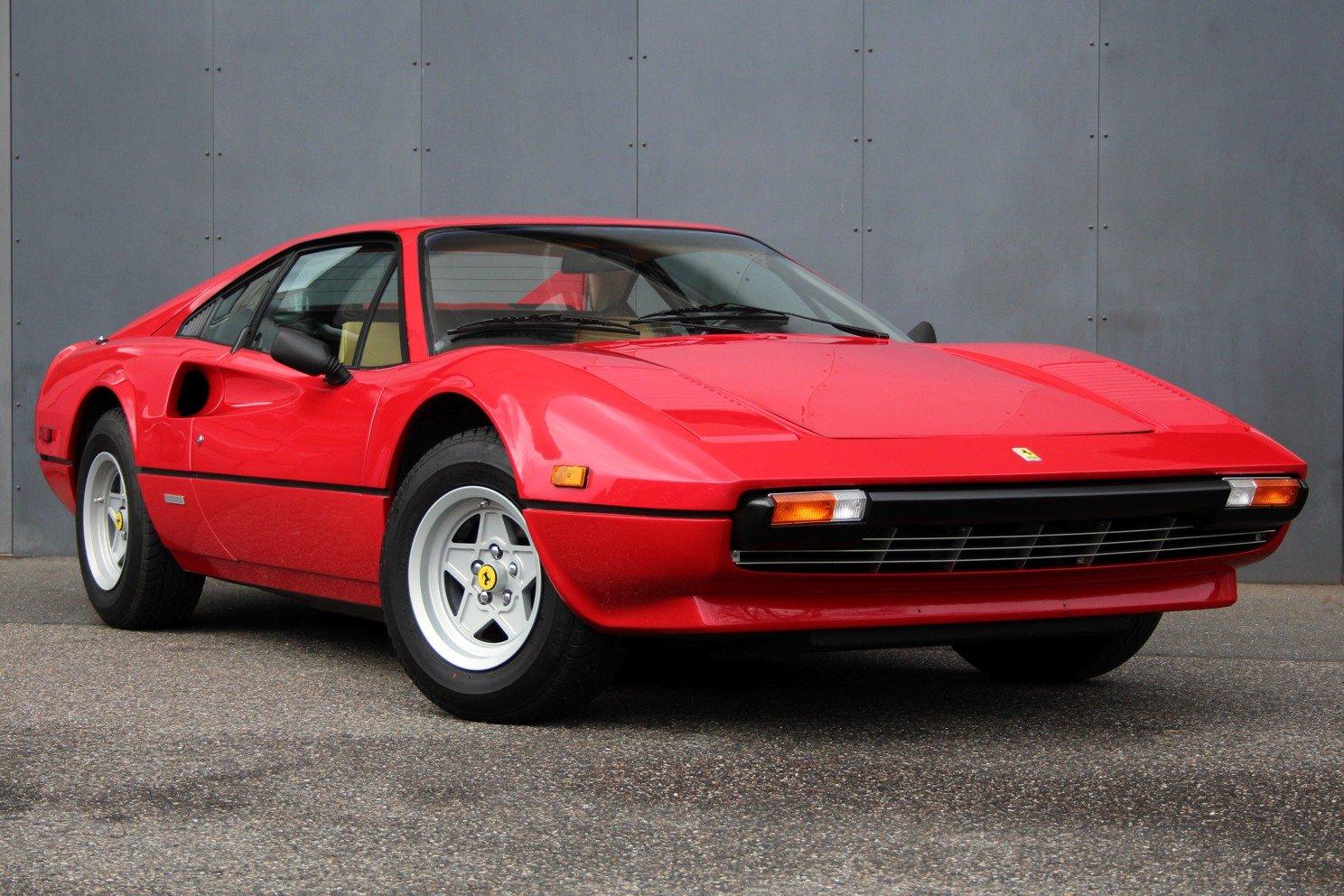 1976 Ferrari 308 GTB Vetroresina LHD (Rosso Chiaro) For Sale (picture 1 of 6)