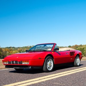 1986 Ferrari Mondial Spider Cabriolet = 3.2 Red(~)Tan $39.9k For Sale
