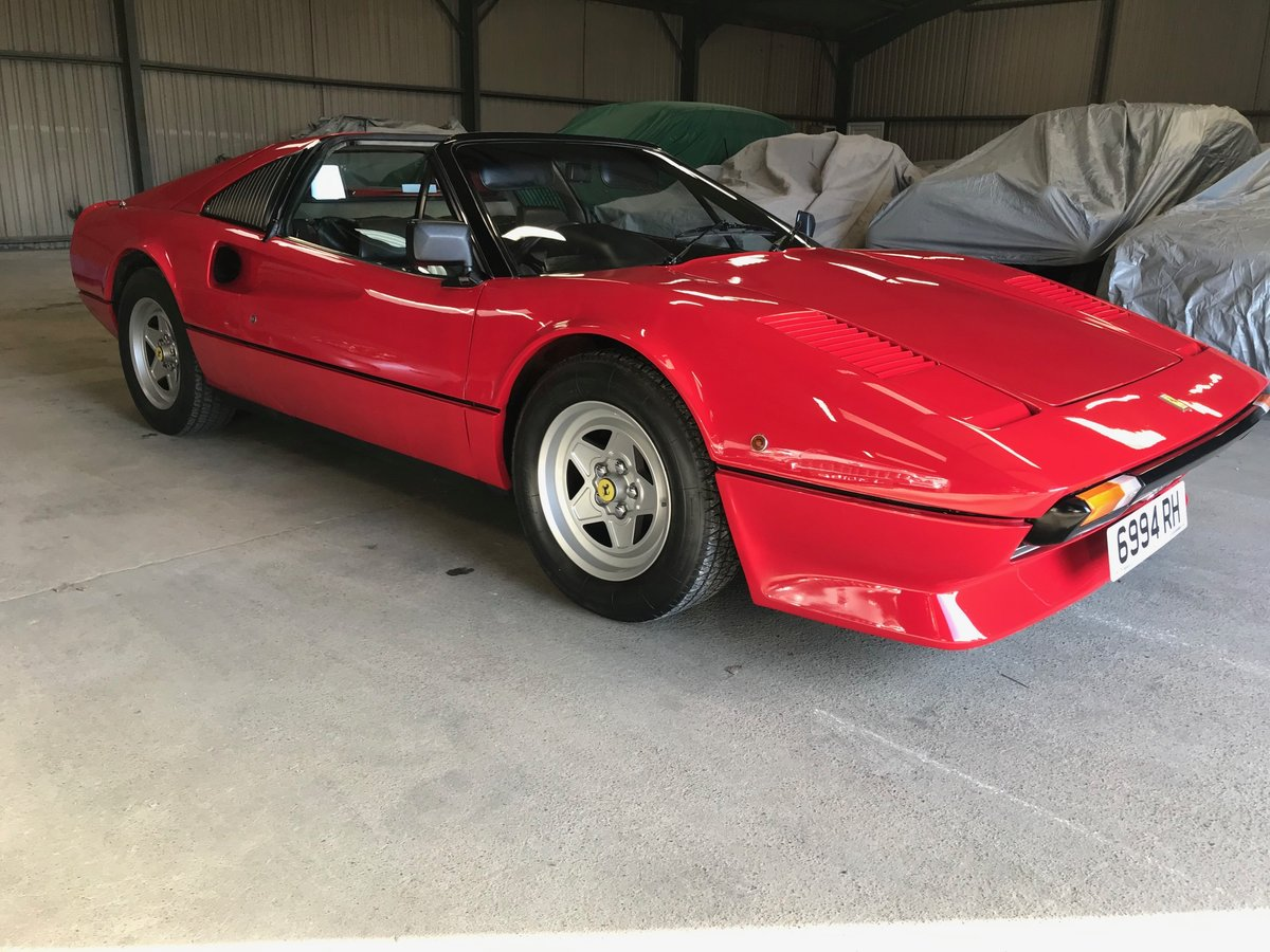 1982 Ferrari 308GTSi RHD full history 69K miles from new For Sale (picture 1 of 6)