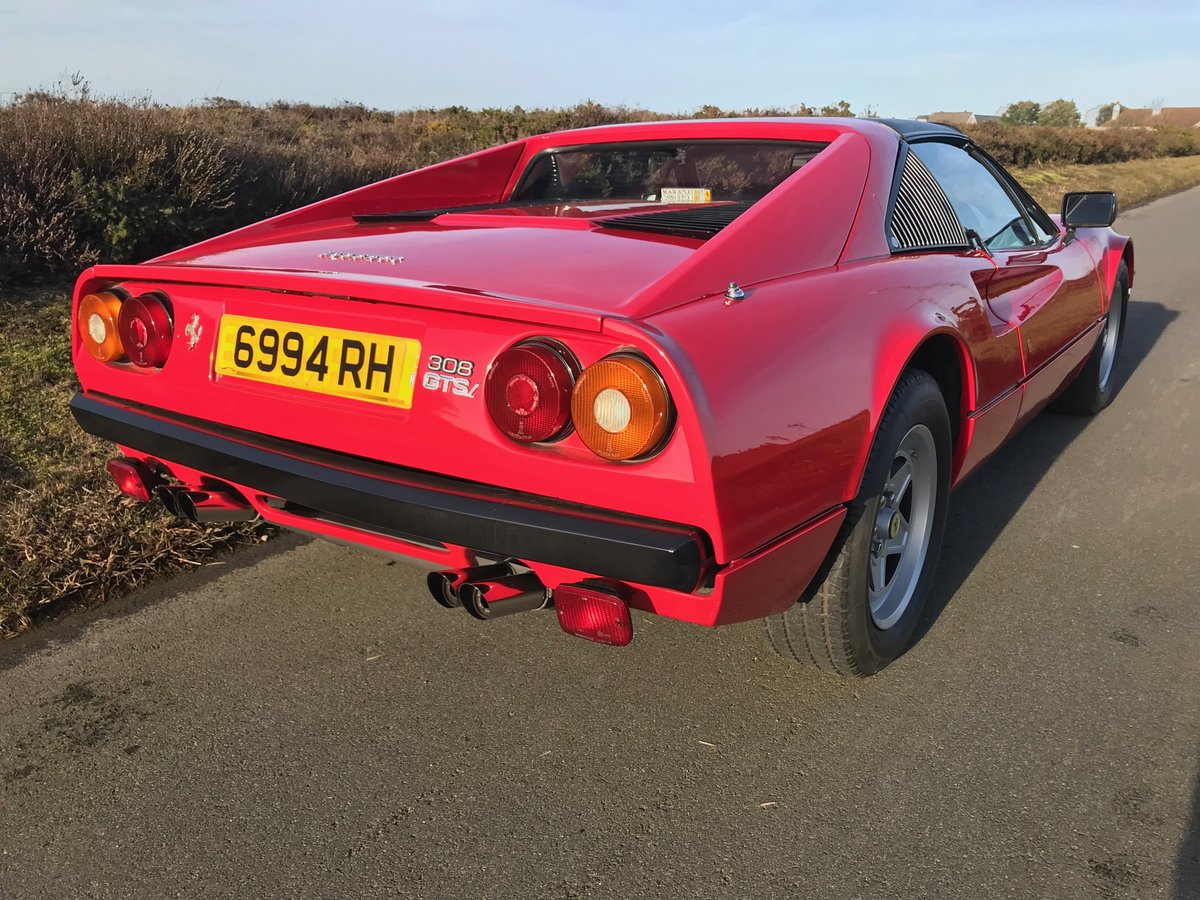 1982 Ferrari 308GTSi RHD full history 69K miles from new For Sale (picture 3 of 6)