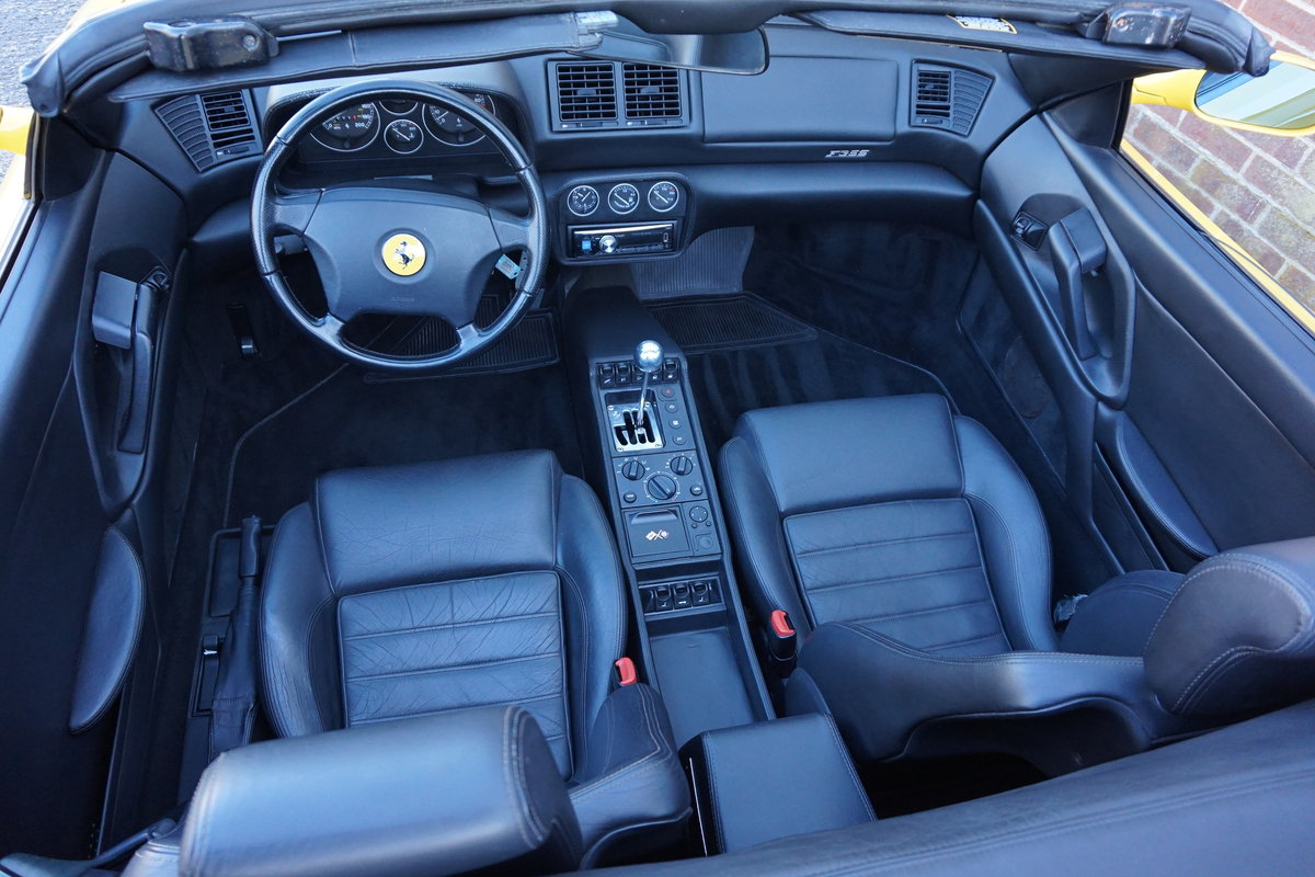 1995 F355 Spider, Manual 18,000 miles LHD For Sale (picture 6 of 6)