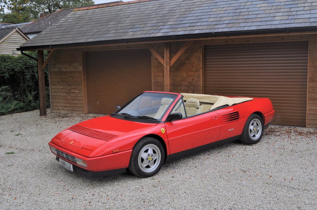 1990 Ferrari Mondial 3.4 T- 21,000 miles from new For Sale (picture 1 of 8)