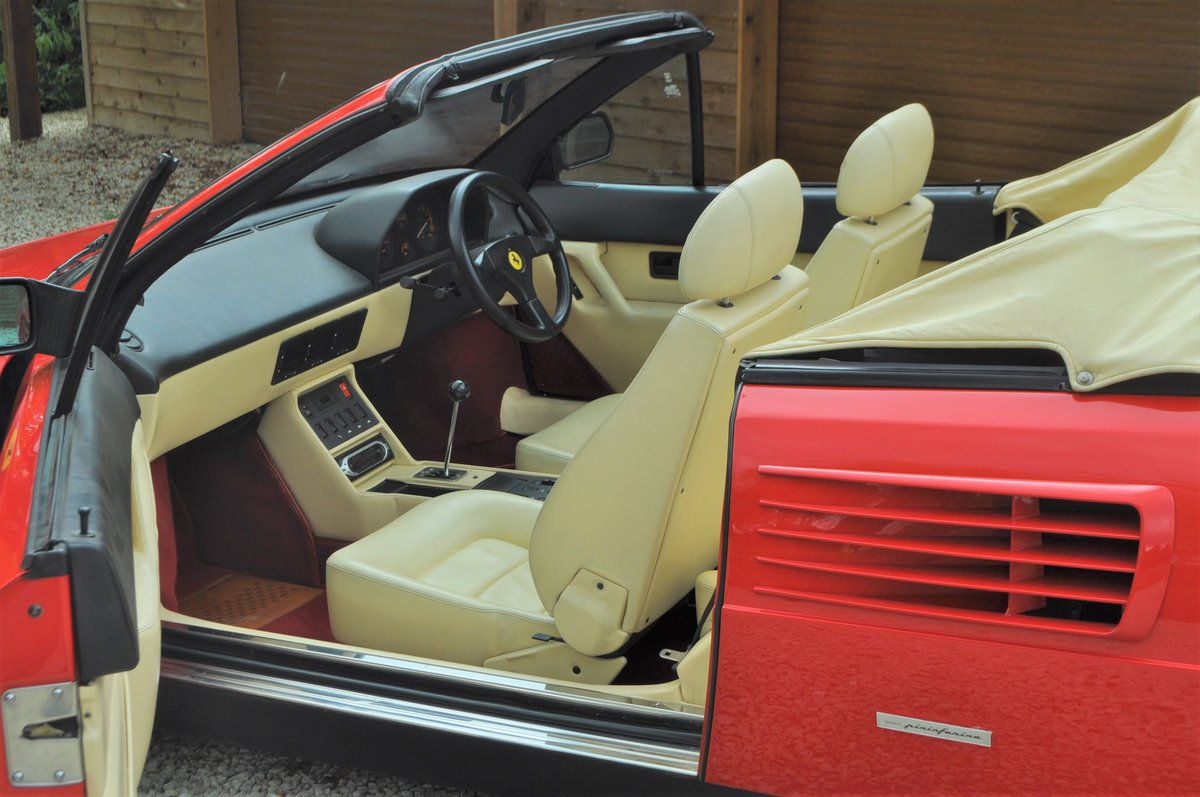 1990 Ferrari Mondial 3.4 T- 21,000 miles from new For Sale (picture 3 of 8)